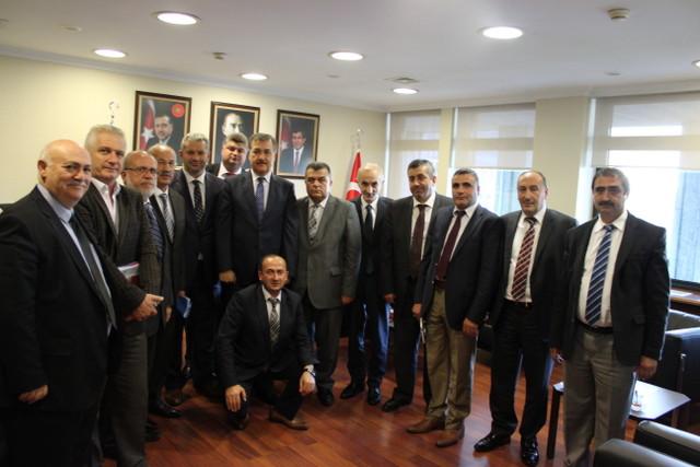 IBB AK Parti grubundan, Halk otob�s esnafina destek s�z�
