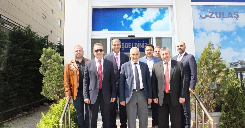 Anadolu Isuzu firmas�ndan nezaket ziyareti