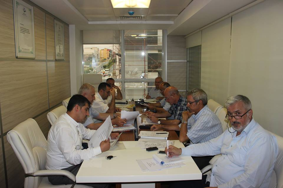 �zel Halk otob�sleri �irket m�d�rleri koordinasyon toplant�s�