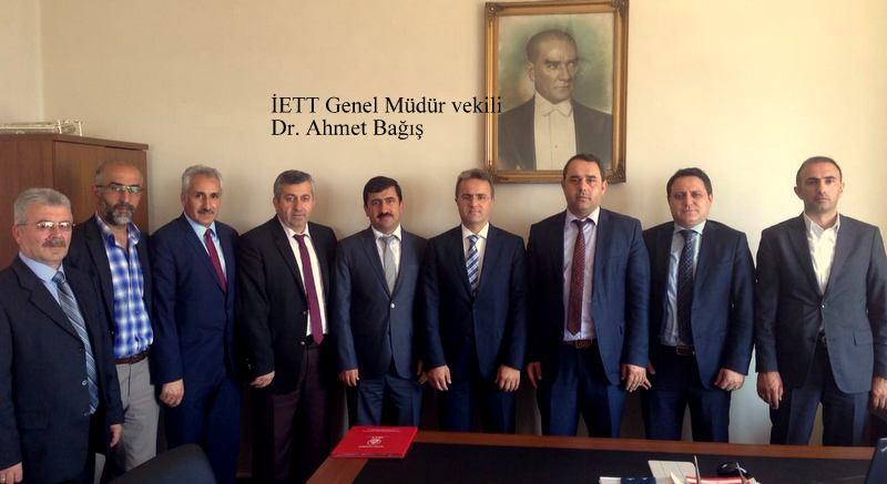 ÝETT Genel Müdür vekili Ahmet Baðýþ'a kutlama mesajý