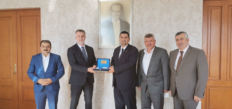 ÝETT Genel Müdürü Alper Bilgili'den TÖHOB heyetine sýcak ilgi