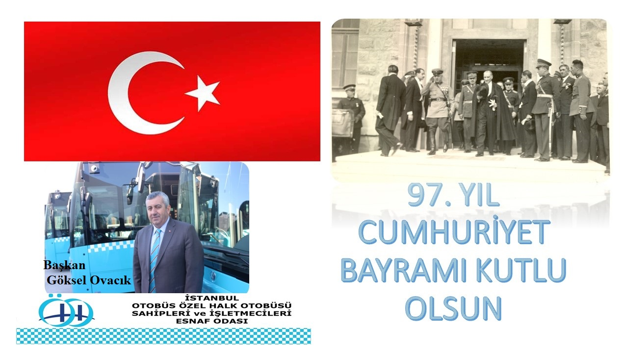 Baþkan Göksel Ovacýk'tan Cumhuriyet Bayramý Mesajý