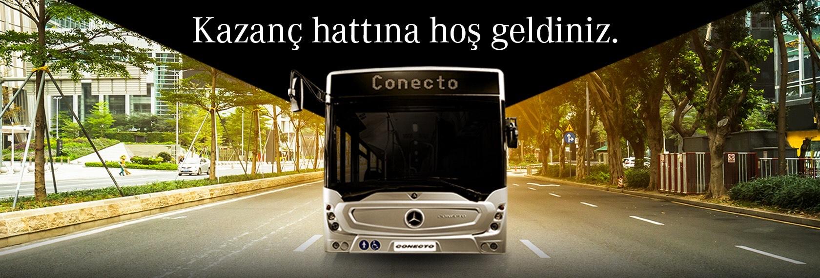 Mercedes Benz Conecto otobüs finans kampanyasý